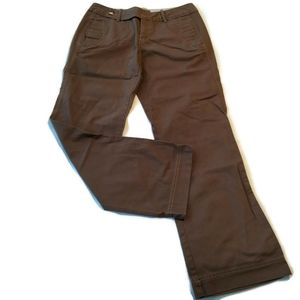 Eddie Bauer Chino pants 6 stretch boot cut vashon
